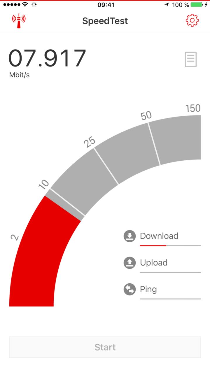 Vodafone Speedtest | P3 digital services