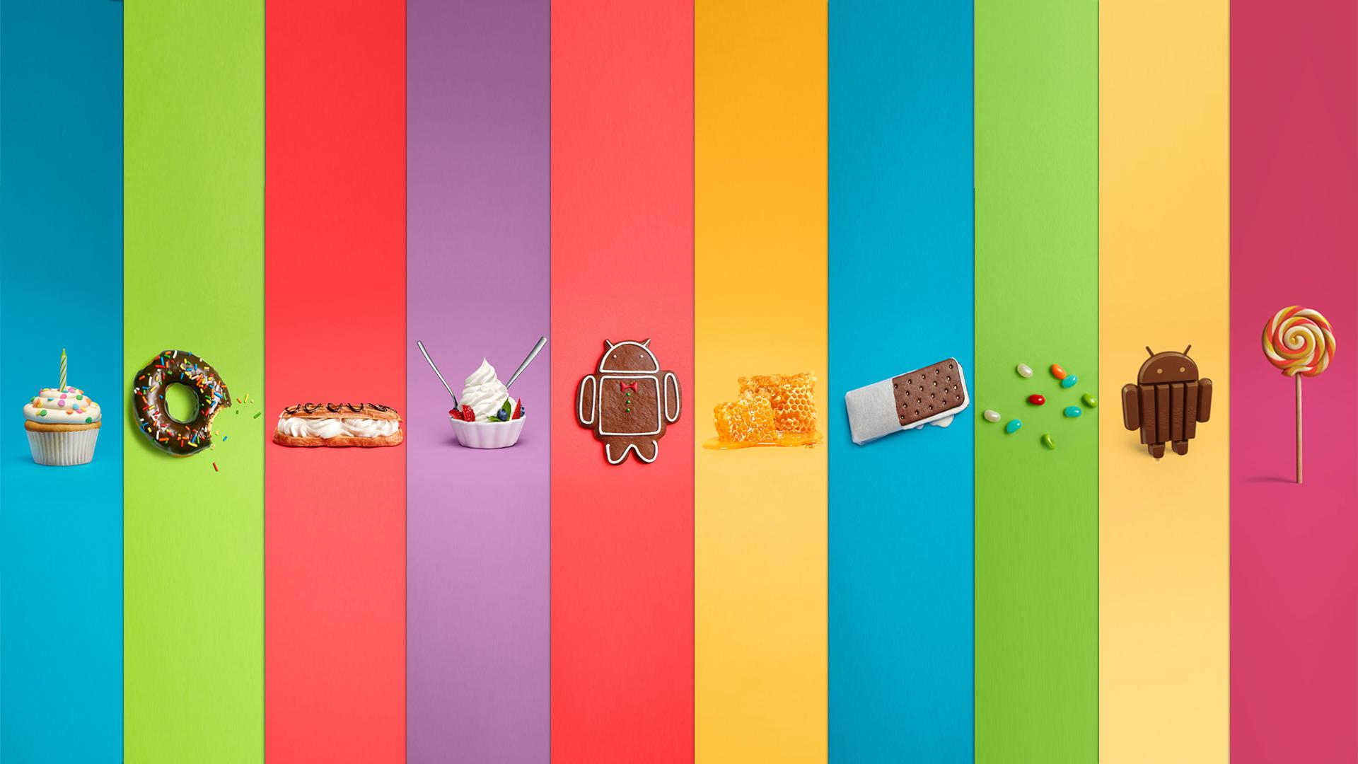Versões do android
