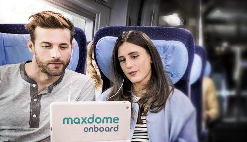 Maxdome in Deutsche Bahn